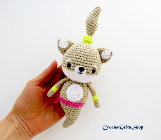 Rosie the little cat amigurumi pattern - Amigurumipatterns.net | 450x518
