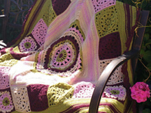 Crochet Blanket Pattern Victoria Throw