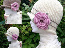 Crochet Ladies Hat Pattern Tilly Cloche