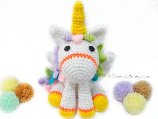 Amigurumi crochet horse pattern - Amigurumi Today | 450x600