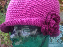 Crochet Ladies Hat pattern