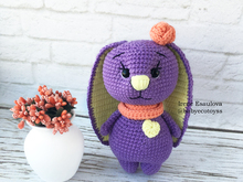 Crochet Pattern Amigurumi Bunny Nancy