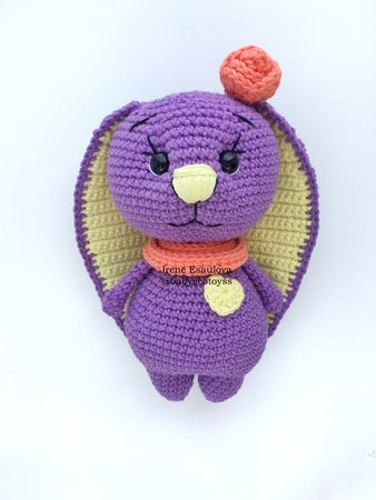 Velvet Bunny Amigurumi Free Crochet Pattern | Crochet bunny ... | 450x338
