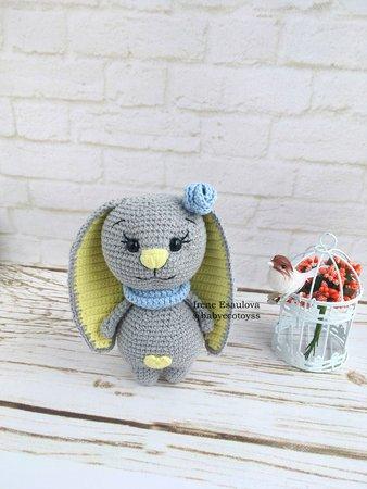 Kids toys Crochet bunny amigurumi, Kawaii bunny stuffed animal ... | 450x338