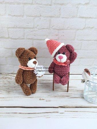 Crochet Your Own Mini Bear Part 1 Head - YouTube | 450x338