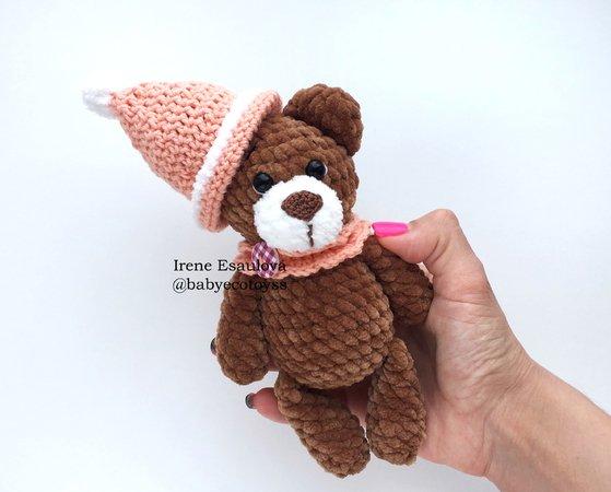 Mini Bear Amigurumi Crochet Pattern | Amigurumi | 450x559