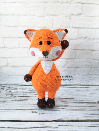 Fox Amigurumi, Mr. Furu - Free Crochet Pattern | Craft Passion | 450x338