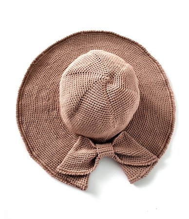 Sun Floppy Hat with Bow
