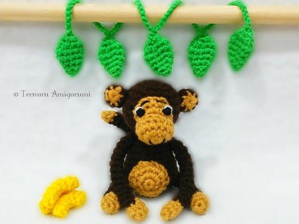 Smiley, the Monkey Crochet Pattern – KnittingKitty – I Crochet ... | 450x600