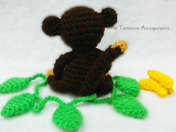 Ravelry: little monkey pattern by ternura amigurumi | 450x600