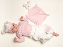 Baby Set pdf Pattern bodysuit yoga pants beanie and cuddly toy