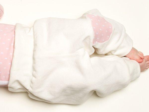 HOSE Mütze Body SET 3Tg Wickelbody Kombination Anzug Reborn Frühchen Zipfelmütze