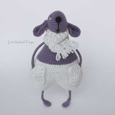 Amigurumi pattern for the crochet Mouse. LuLu and Lucky
