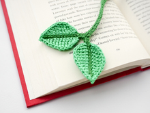 Crochet Leaf Bookmark