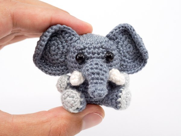Roy Elephant Crochet Kit by Wool Couture | 450x600