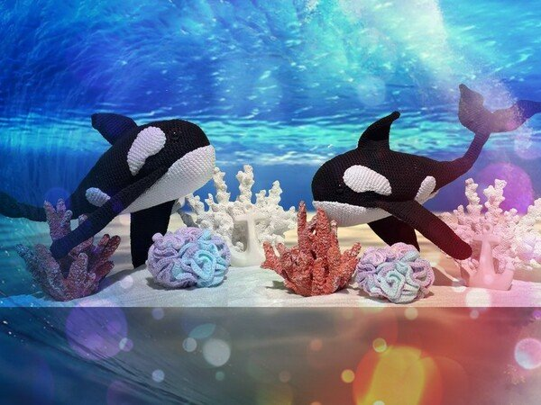 "Crochet Pattern ""Willy the Orca"""