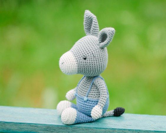 Mama Jill and Little Joey Kangaroo amigurumi pattern by Hello ...   450x563