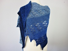"Knitting pattern shawl ""ZOZA"""