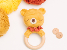 Bear rattle crochet pattern