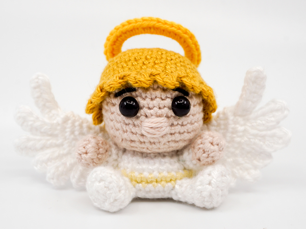 Crochet Angel Gorgeous Amigurumi Pattern - Crochet News | 450x600