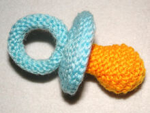 Lovely Pacifier - knitting pattern