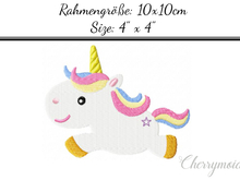 Cute Unicorn 10x10