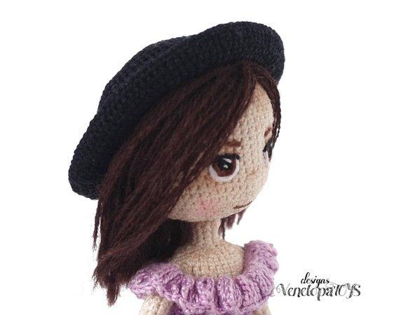 Mini Sun Hat Crochet Pattern | Free Pattern & Tutorial • Craft Passion | 450x562