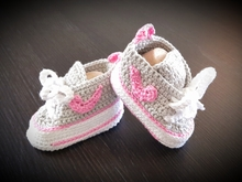 Baby-Sneakers Anleitung