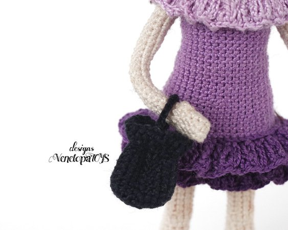 Amigurumi doll in dragon costume - Amigurumi Today | 450x563