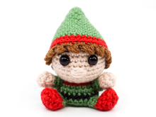 Amigurumi Christmas Elf Crochet Pattern