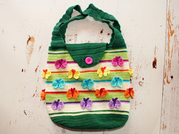 Butterfly Bag - Crochet Bag - Crochet Pattern