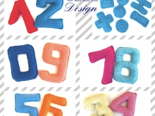 numbers crochet pattern