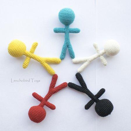 Scrap the Voodoo Doll: Free Halloween Crochet Pattern | | 450x450
