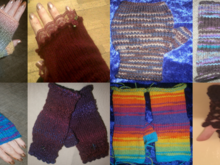 Pattern The Canny Mitts Fingerless Mitts Collection