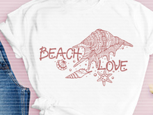 Plotterdatei Beach Love