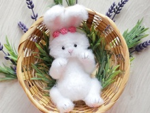Crochet pattern Amigurumi little bunny