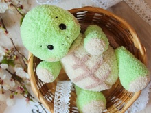 Crochet pattern Amigurumi Fedya the turtle