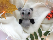 Amigurumi crochet pattern Volumetric Halloween little Bat Toy