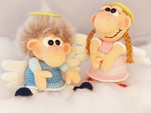 "Crochet Pattern ""The Cheeky Engels"""