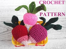 Red Radish Crochet Pattern