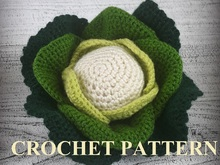White cabbage Crochet Pattern