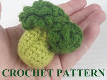 Broccoli Crochet Pattern toy