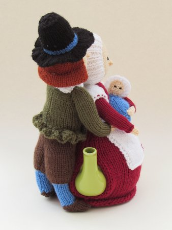Mayflower Pilgrims Tea Cosy Pattern