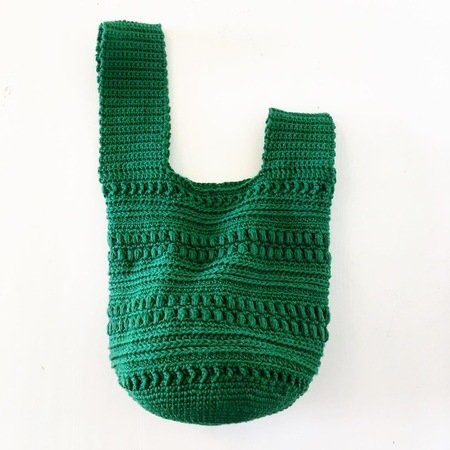 Pattern Crochet Pouch Beady Bag