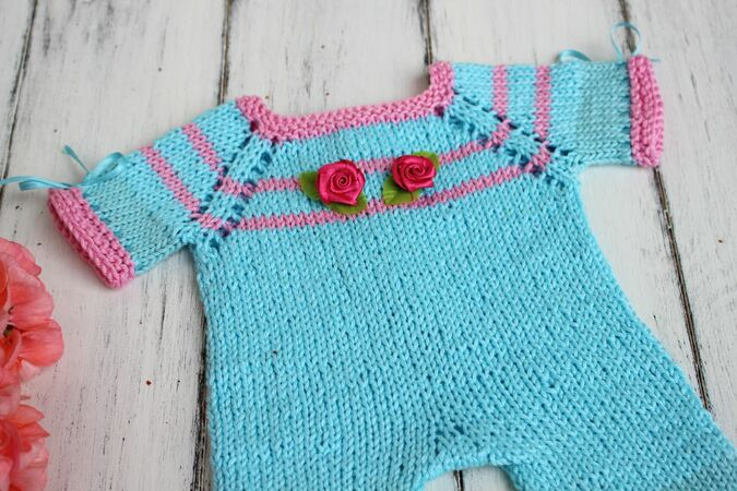 Dolls Overall Knitting Pattern