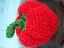 Red paprika crochet pattern