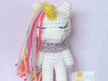Pattern Unicorn Ulani- Crochet Amigurumi PDF- English