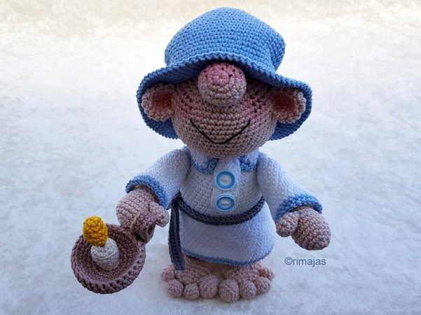 Crochet Pattern - Sleepwalker   Martin