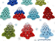 Crochet Pattern Christmas Tree Ornament