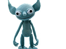 George Goblin by Katja Heinlein, PDF crochet pattern, tutorial